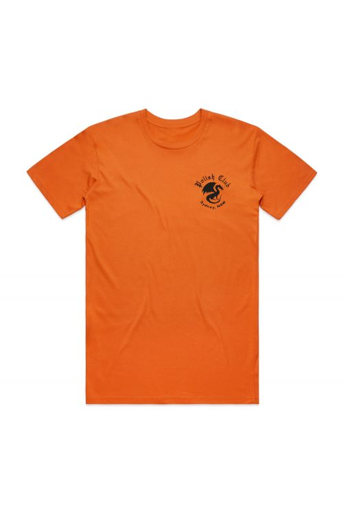 Dragon Orange Tshirt by Polish Club
