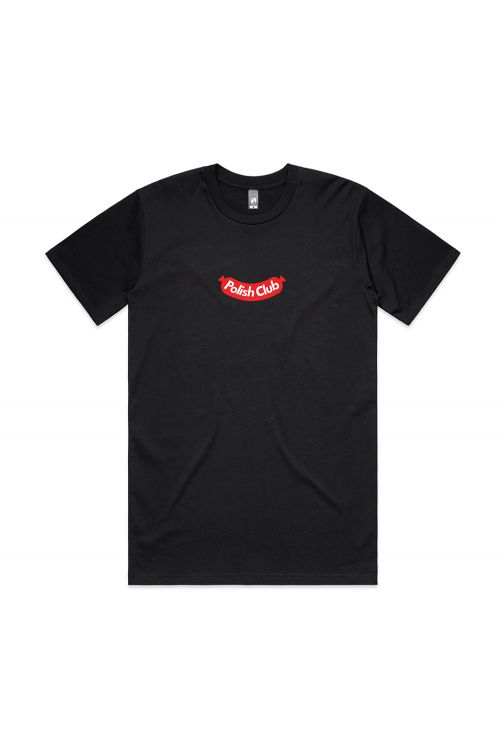 Hype Beast' Aus Music Day Black Tshirt by Polish Club