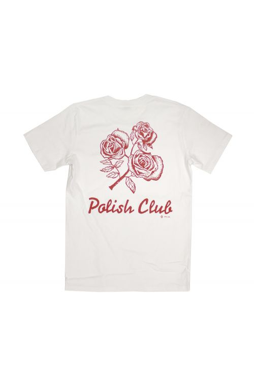 Flowers White Tshirt by Polish Club