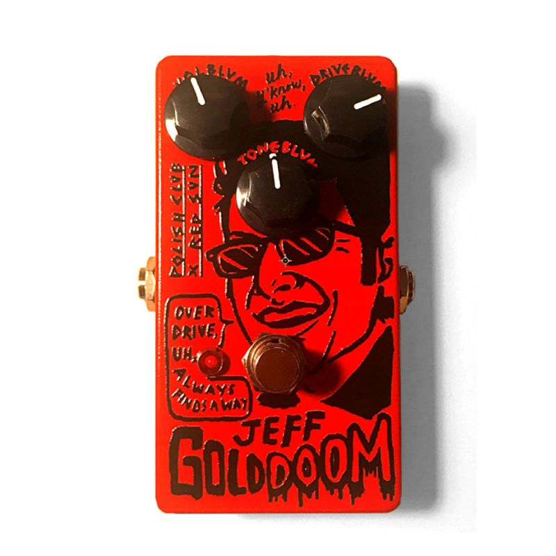 """Jeff Golddoom"" Guitar Pedal."